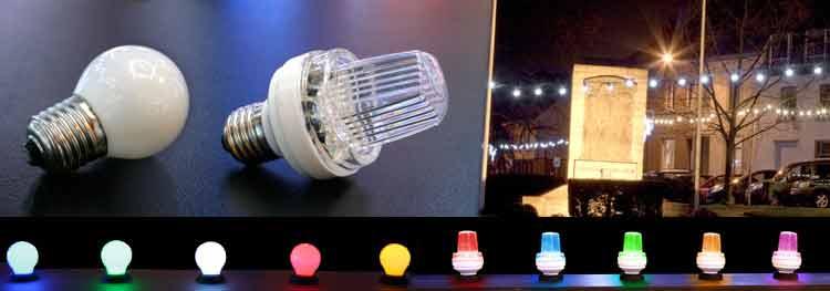 LED žárovky a LED strobo žárovky