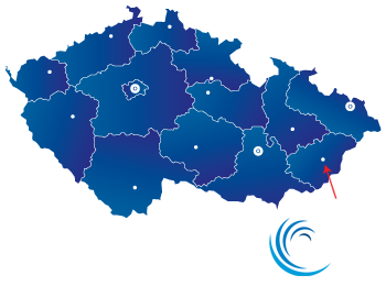 mapka obchodní zastoupení Blachere Illumination CZ s.r.o.