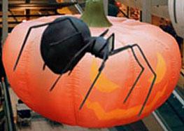 výzdoba na Halloween